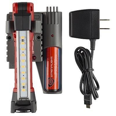 Akumulatorowa lampa warsztatowa Stinger Switchblade Set, CRI, UV