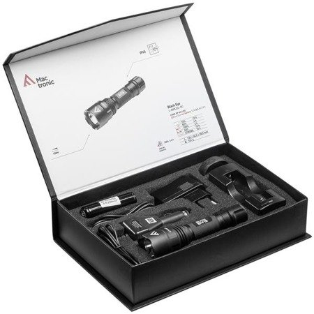 Akumulatorowa latarka ręczna  Mactronic BLACK EYE, 420lm