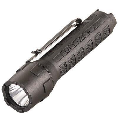 Bateryjna latarka Streamlight PolyTac X, kol. czarny, blistr, 600 lm