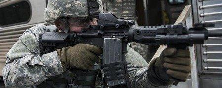 CAA SST1, Oparcie Policzka AR15/M4/M16 - khaki
