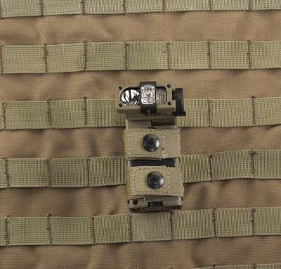 Kątowa latarka wojskowa Sidewinder Military Paracord, 55 lm
