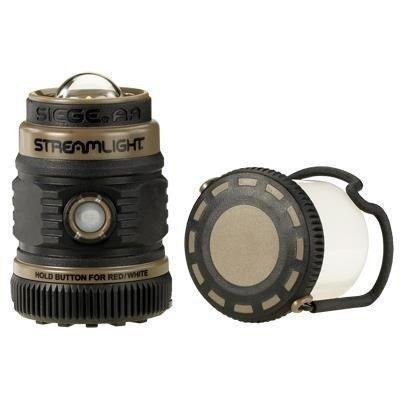 Lampa kempingowa Streamslight Siege AA, kol. coyot, 200 lm
