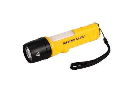 Latarka ręczna, DURA LIGHT 2.2, 400lm + COB