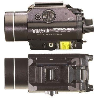 Latarka taktyczna Streamlight TLR-2, celownik laserowy, 300 lm