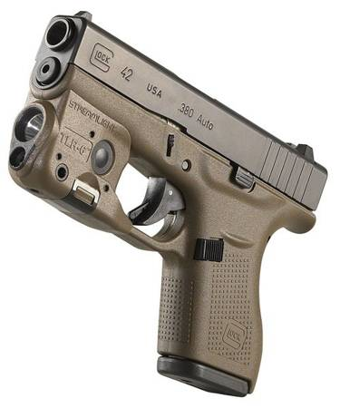 Latarka taktyczna Streamlight TLR-6 do GLOCK 42/43, 100 lm