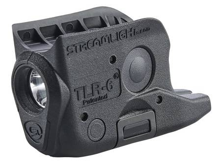 Latarka taktyczna do GLOCK 42/43,  Streamlight TLR-6, 100 lm