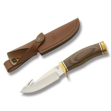 Nóż myśliwski Buck 191 Zipper . Rękojeść brązowe drewno (2550)