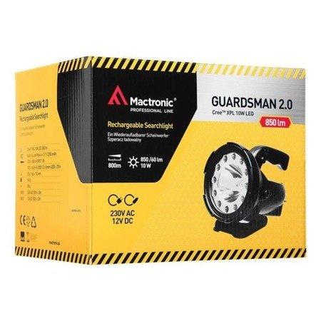 Szperacz ładowalny Mactrinic GUARDSMAN 2.0, 850 lm
